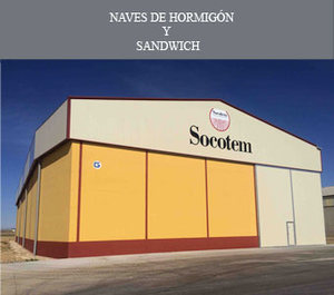 Naves de Hormigón y Panel sandwich